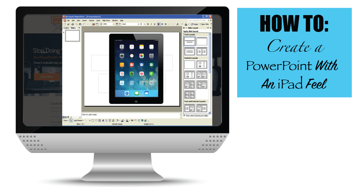 How to create a powerpoint demo with an ipad feel pptxtreme how to create a powerpoint demo with an ipad feel toneelgroepblik Image collections